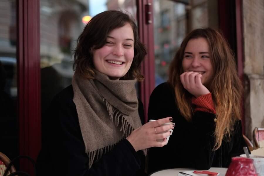 Karine 24 ans, Marie 25 ans, Lund en Suède.