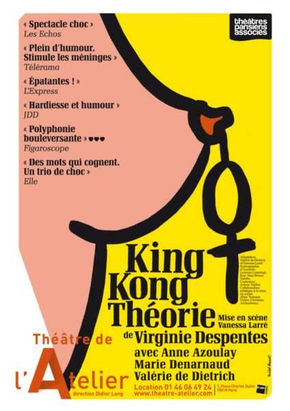 """Places pour aller voir """"King Kong Théorie"""" au théâtre de l'Atelier"""