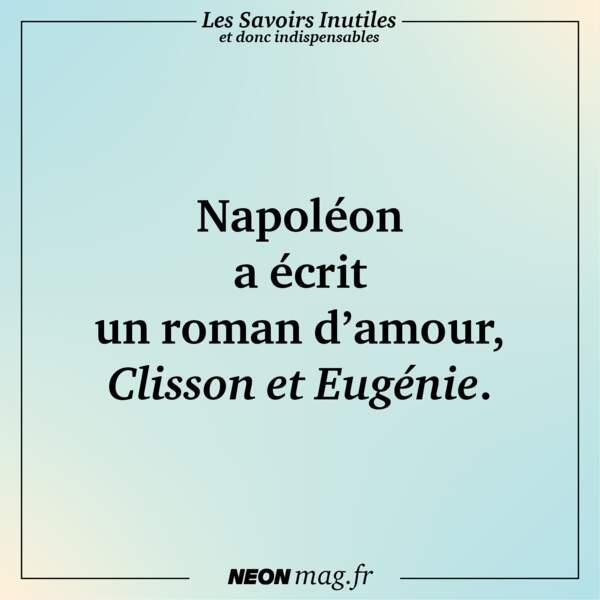 Napoléon a écrit un roman d'amour, Clisson et Eugénie