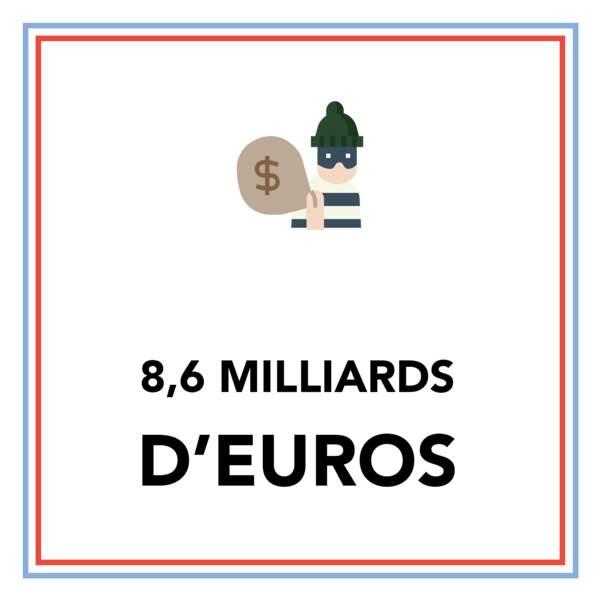 """8,6 milliards d'euros : les pertes de l'État liées à la """"fraude sociale"""""""