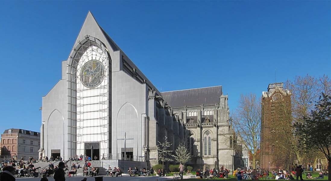 La cathédrale Notre-Dame de la Treille, un ravalement de façade qui rajeunit