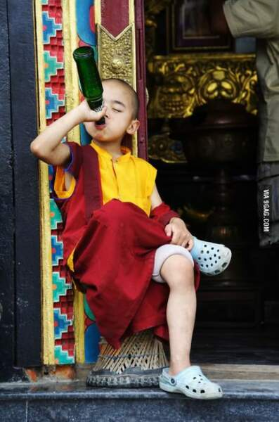 Petit moine devient grand