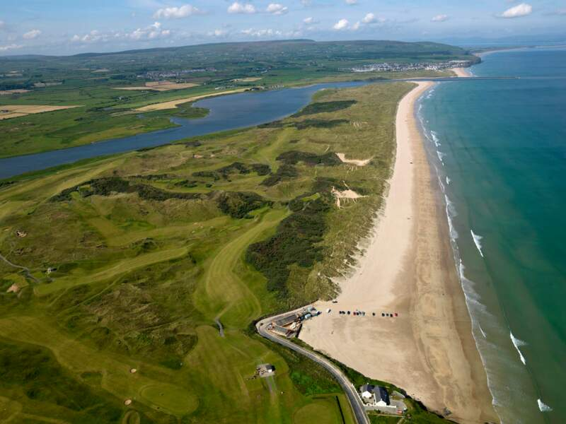 Portstewart Strand en Irlande du Nord