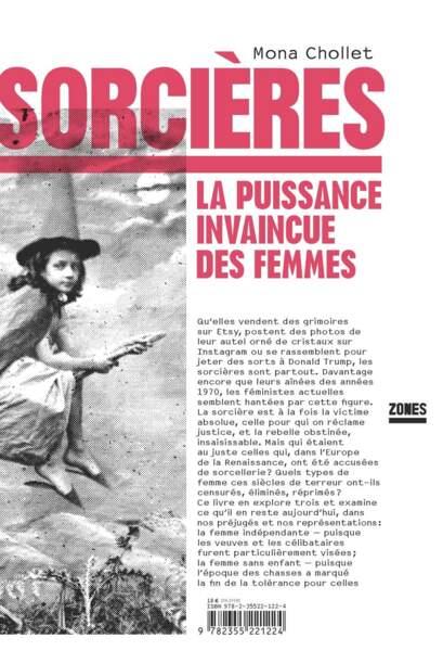Sorcières ou la puissance invaincue des femmes, de Mona Chollet