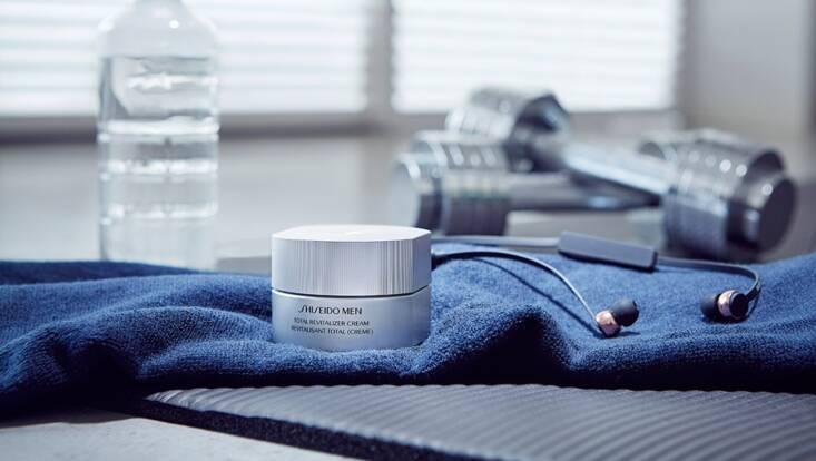 Revitalisant Total, la nouvelle Crème Shiseido Men pour une peau en pleine forme