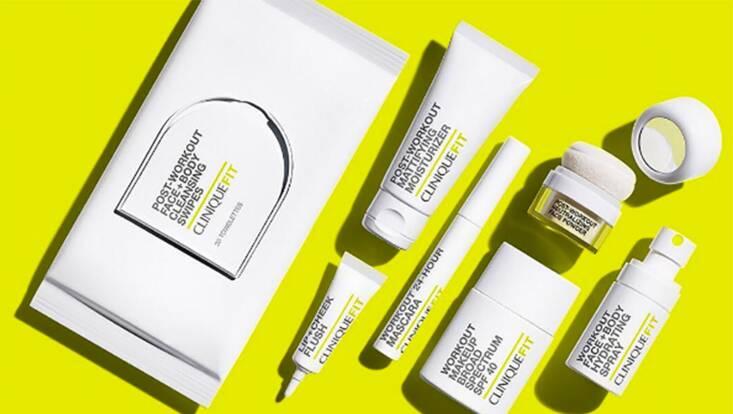 Clinique Fit, une gamme Make-up et soins pour les sportives !
