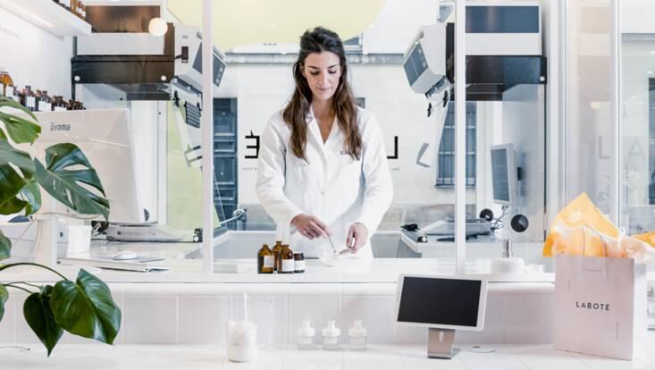 Laboté impose les cosmétiques 100 % sur-mesure aux Galeries Lafayette