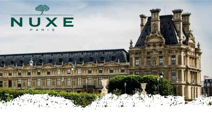 En 2018, NUXE devient mécène du musée du Louvre
