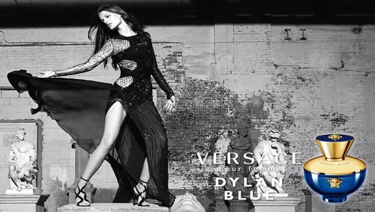 Dylan Blue pour Femme, la sensation Versace arrive en France
