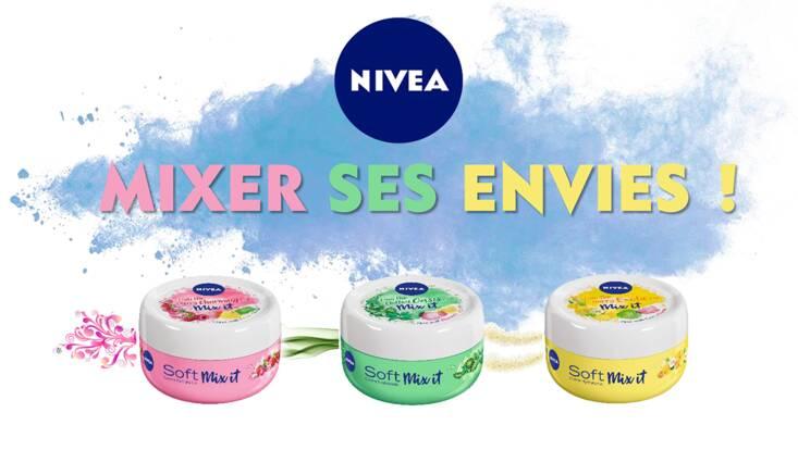 Soft mix It, la crème Nivea sur-mesure