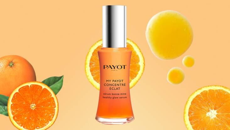 La vitamine dans la peau avec le Concentré Éclat My Payot