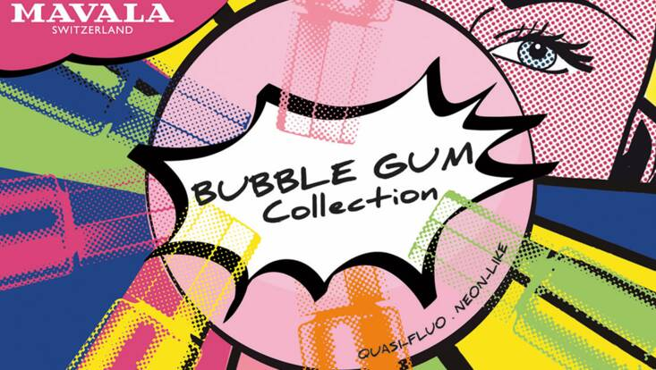 Bubble Gum, la nouvelle collection très pop de Mavala
