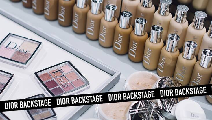 Dior Backstage, une collection exclusive à retrouver chez Sephora