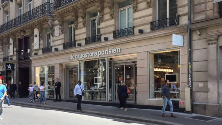 Casino et L'Oréal inaugurent ...Le Drugstore Parisen