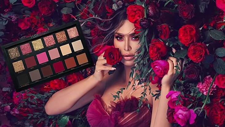 Huda Beauty remasterise sa palette Rose Gold