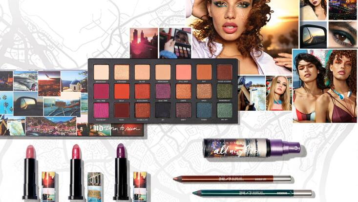 Born To Run, la collection d'Urban Decay qui va nous faire voyager