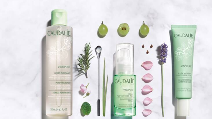 Caudalie lance sa routine anti-imperfections