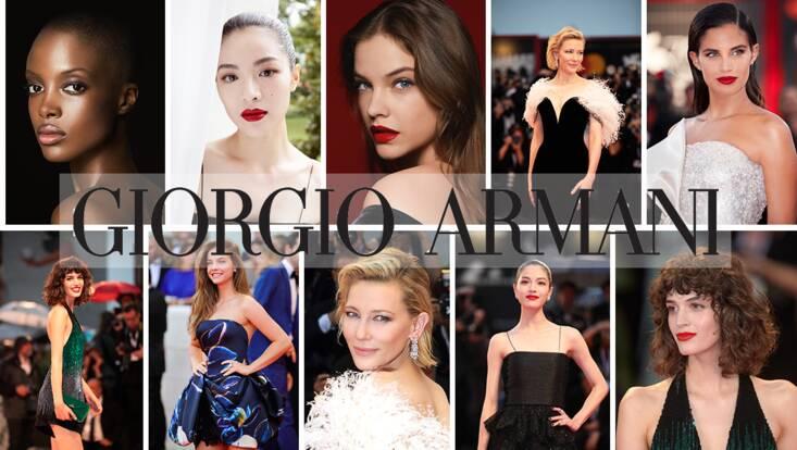 Armani Beauty dévoile ses nouveaux visages