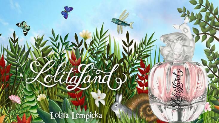 Lolitaland, le parfum des merveilles, par Lolita Lempicka
