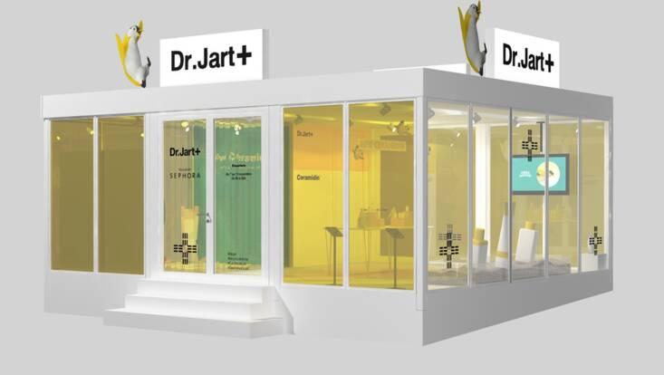 Dr Jart vous reçoit dans son nouveau Pop Up Store