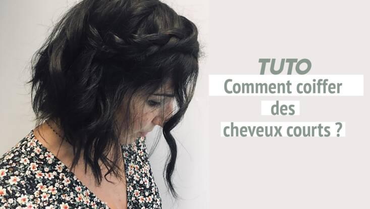 Tuto vidéo : coiffure facile et bohème pour cheveux courts