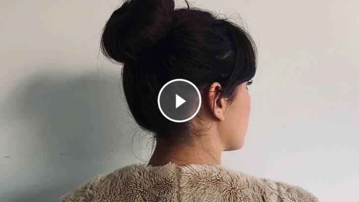 Tuto vidéo : idée coiffure facile pour aller travailler