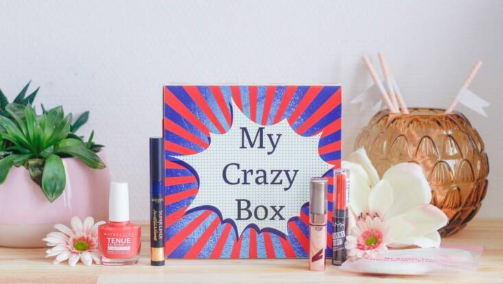 My Crazy Box, la box maquillage à prix doux