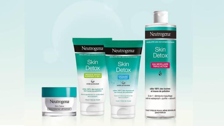 Skin Detox : un bol d'air pur pour la peau avec Neutrogena