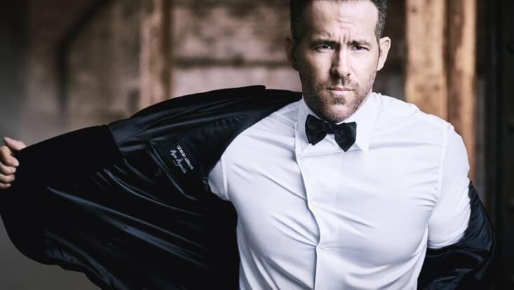 Ryan Reynolds est le nouveau visage d'Armani Code