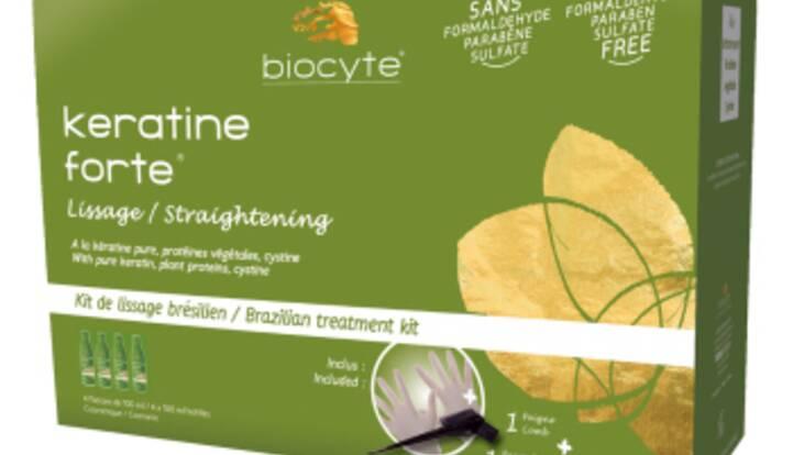 Un lissage brésilien à domicile avec Biocyte