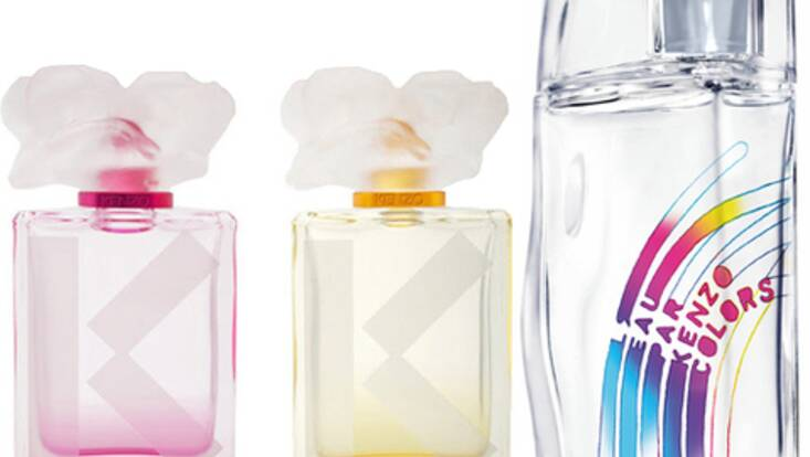 Deux nouveaux parfums colorés pour Kenzo