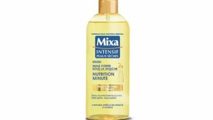 mixa invite l 39 huile pour le corps sous la douche les testeuses. Black Bedroom Furniture Sets. Home Design Ideas