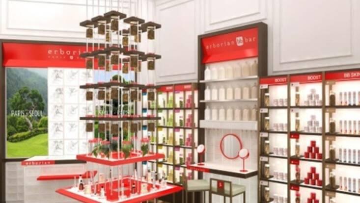 Une toute première boutique mondiale pour Erborian