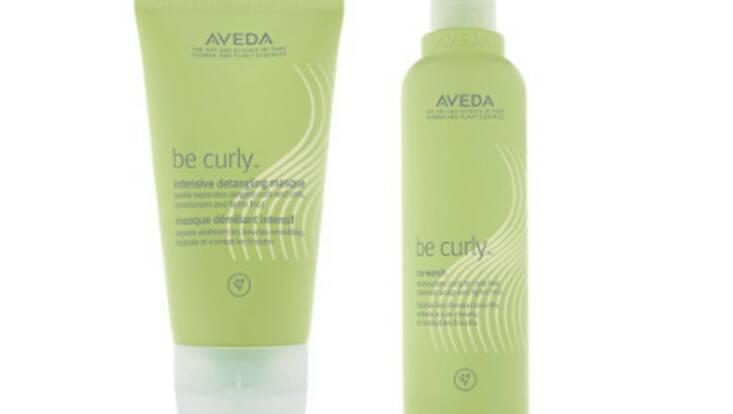 Aveda prend soin des cheveux bouclés