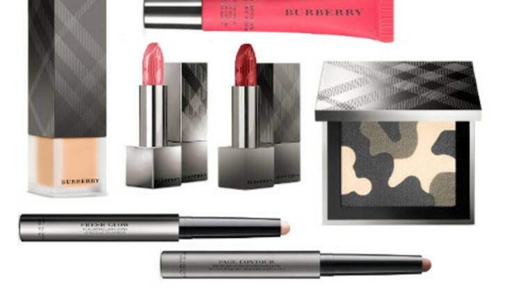 Un look so british avec la ligne Burberry Make-Up