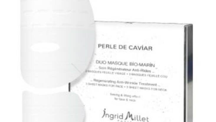 Duo Masque Bio-Marin d\'Ingrid Millet arrive en France