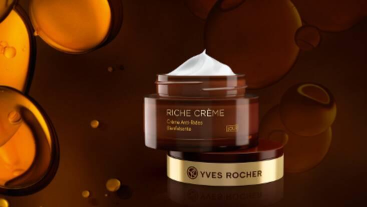 Riche Crème fait peau neuve chez Yves Rocher