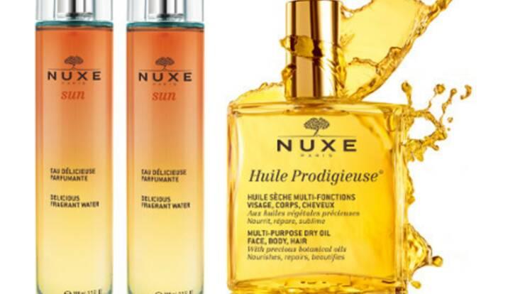 Un petit avant goût d'été avec Nuxe