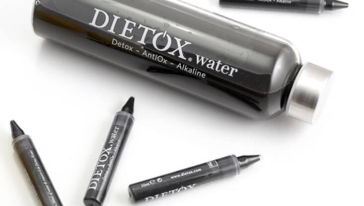 Dietox Water, une eau alcaline pour un effet détox