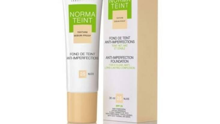 Normateint, un nouveau fond de teint anti-imperfections