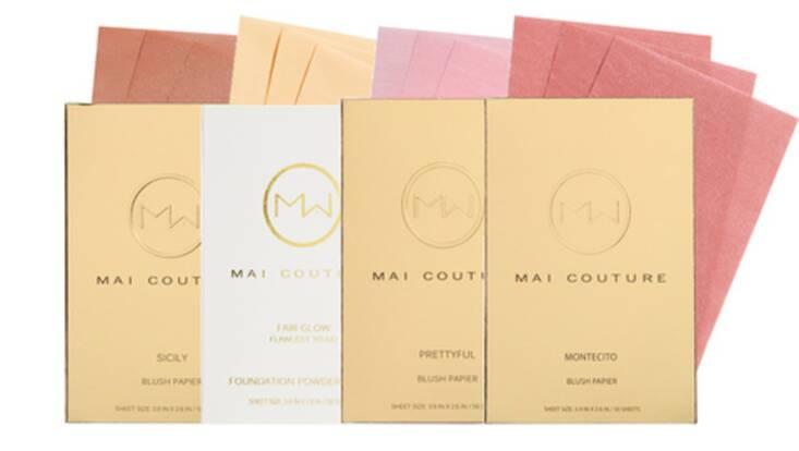 Mai Couture, le maquillage nomade en papier