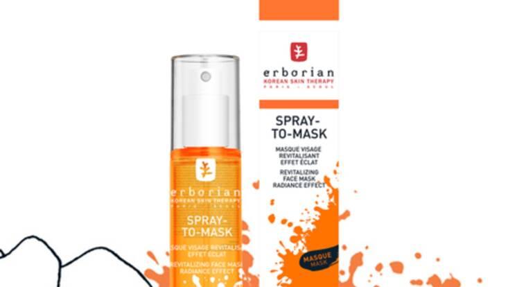 Spray-to-Mask, le masque nouvelle génération par Erborian