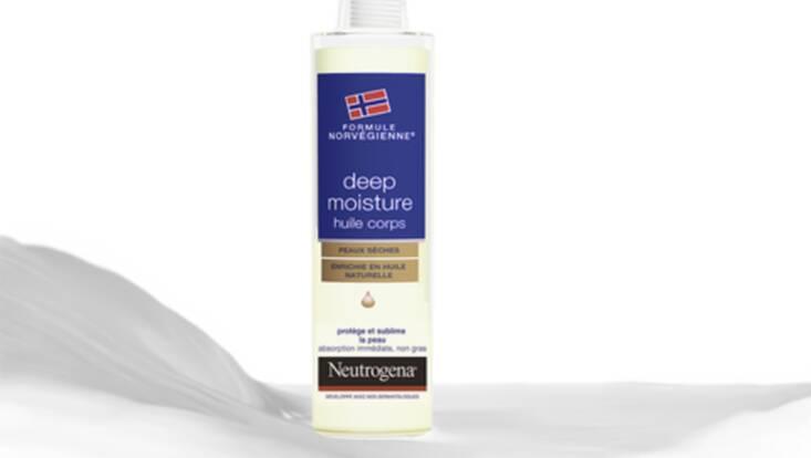 Sublimez votre peau avec l'Huile Corps Deep Moisture Neutrogena
