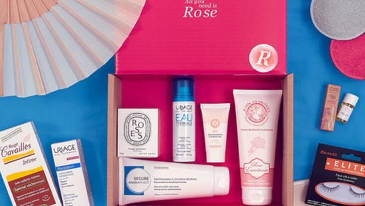 All you need is Rose... La box qui fait du bien