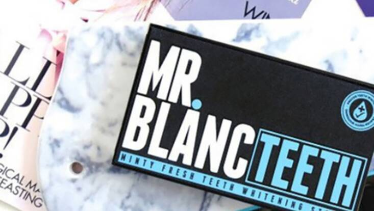 Mr Blanc Teeth, le dentifrice noir qui fait les dents blanches