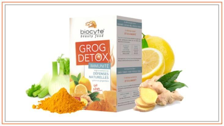 Grog Detox, votre allié anti-maux hivernaux chez Biocyte