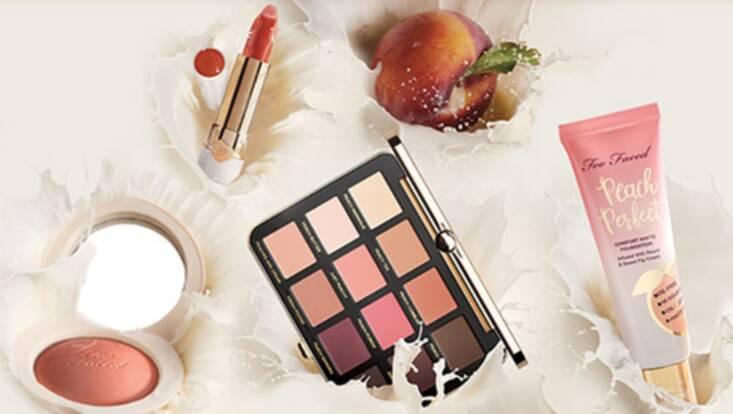 On adore... La Collection Peaches & Cream par Too Faced