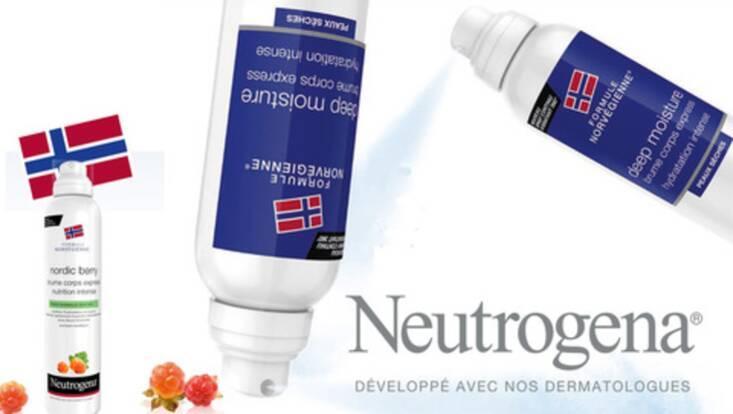 Neutrogena offre le meilleur à la peau en quelques secondes