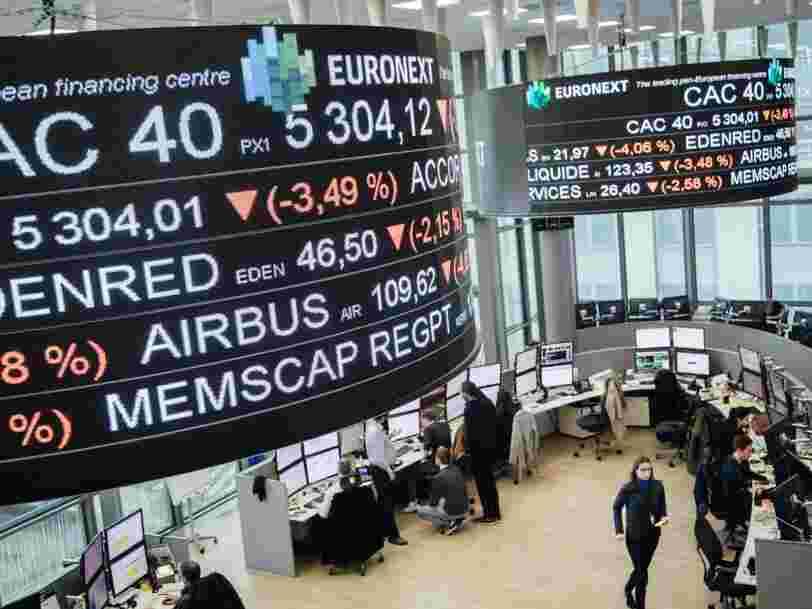 Coronavirus : et si la Bourse de Paris fermait pour stopper la dégringolade des cours ?