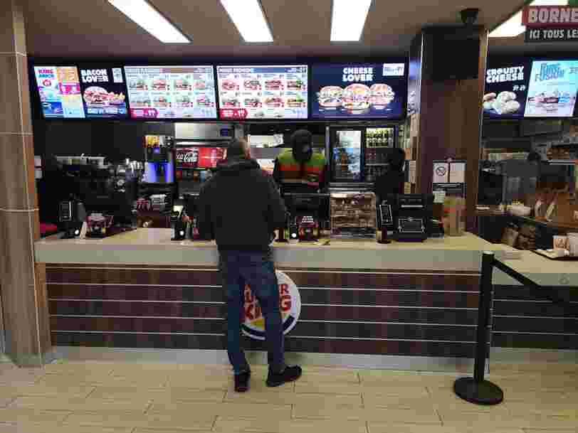 Vous ne pourrez plus manger de burgers Quick ou Burger King pendant une durée indéterminée